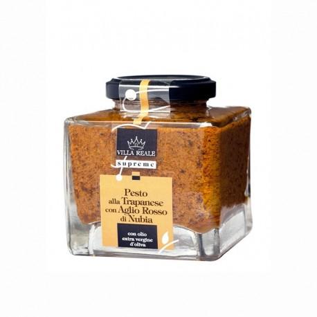 Pesto alla trapanese con aglio rosso di Nubia
