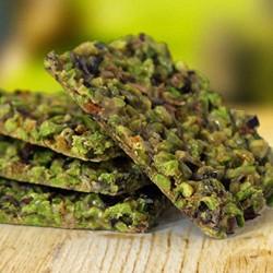 Croccantino di pistacchio prodotto artigianale tipico di Bronte