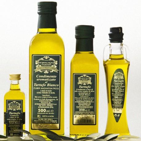 Olio evo aromatizzato al tartufo bianco