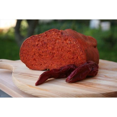 'Nduja in budello naturale