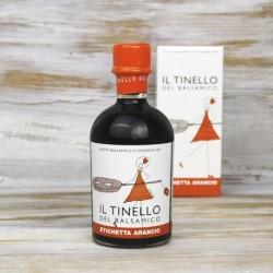 Aceto balsamico di Modena IGP etichetta arancione