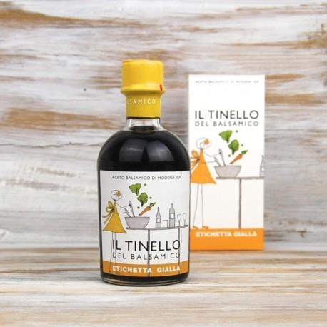 Aceto balsamico di Modena IGP etichetta gialla